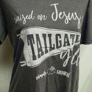 Simply faithful lady's T-shirt